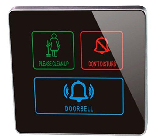 Sinalizador Modelo NP01 - Sinalizador Touch Screen para Hotel, Pousada e Motel