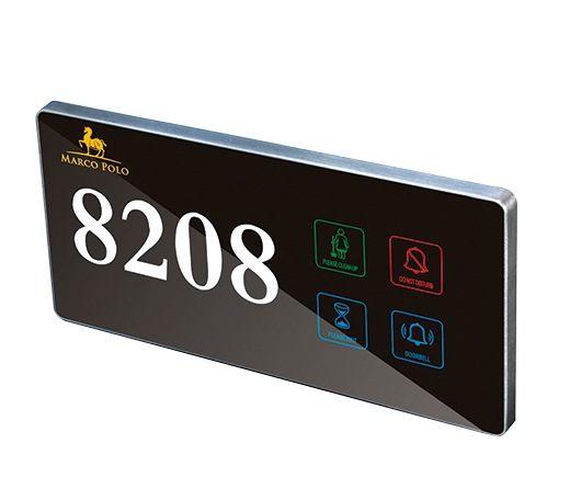 Sinalizador Modelo NPQLO2 - Sinalizador Touch Screen para Hotel, Pousada e Motel