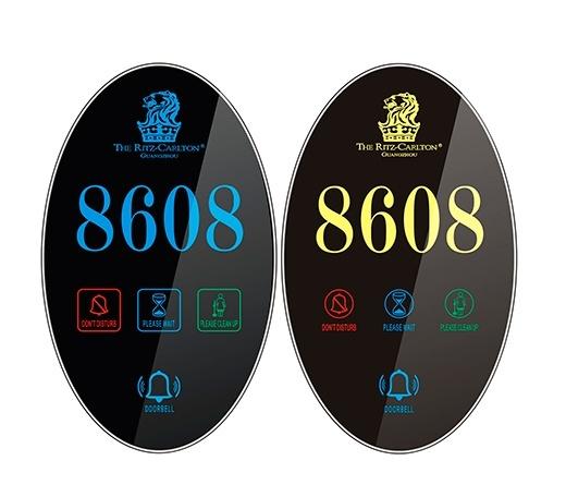 Sinalizador Modelo NPRL01 - Sinalizador Touch Screen para Hotel, Pousada e Motel